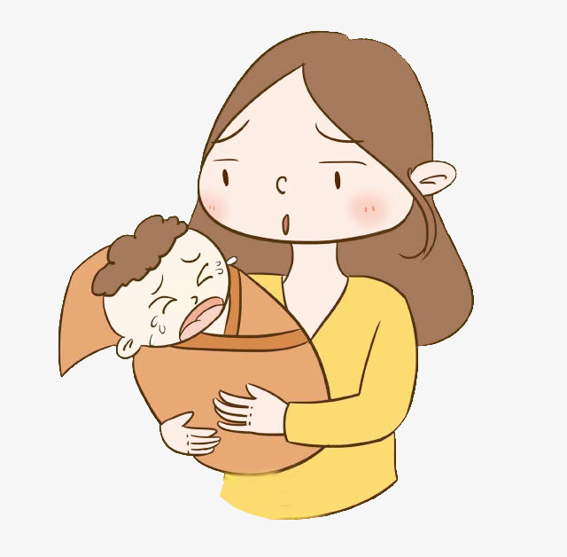 Mother Crying Clipart.