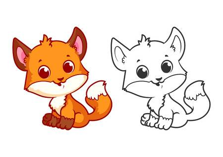 1,158 Baby Wolf Stock Vector Illustration And Royalty Free Baby Wolf.