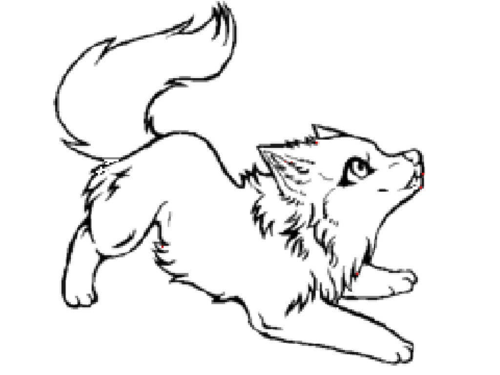 Wolf Clipart Baby Werewolf Drawings.