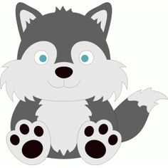 Baby wolf clipart 6 » Clipart Station.