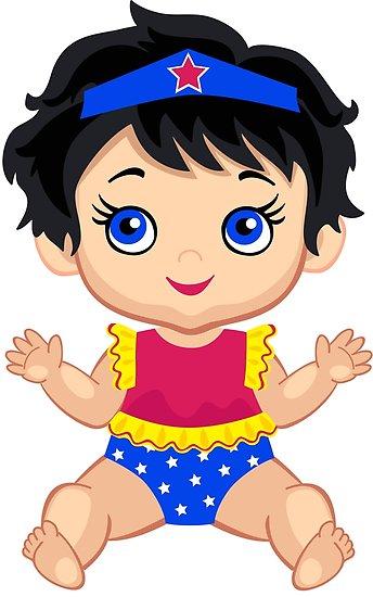 'Wonder Women Baby.' Poster by Sandytov.