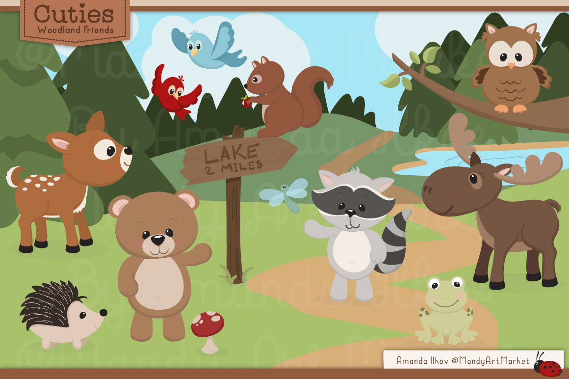 Free Woodland Cliparts, Download Free Clip Art, Free Clip Art on.