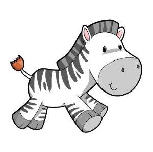 Baby zebra clipart free.