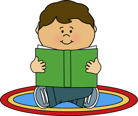 Student Sitting On Carpet Clipart.