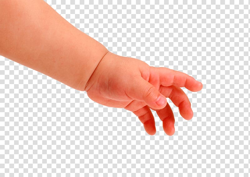 Child Finger Nail Body Symptom, Baby Hand transparent.