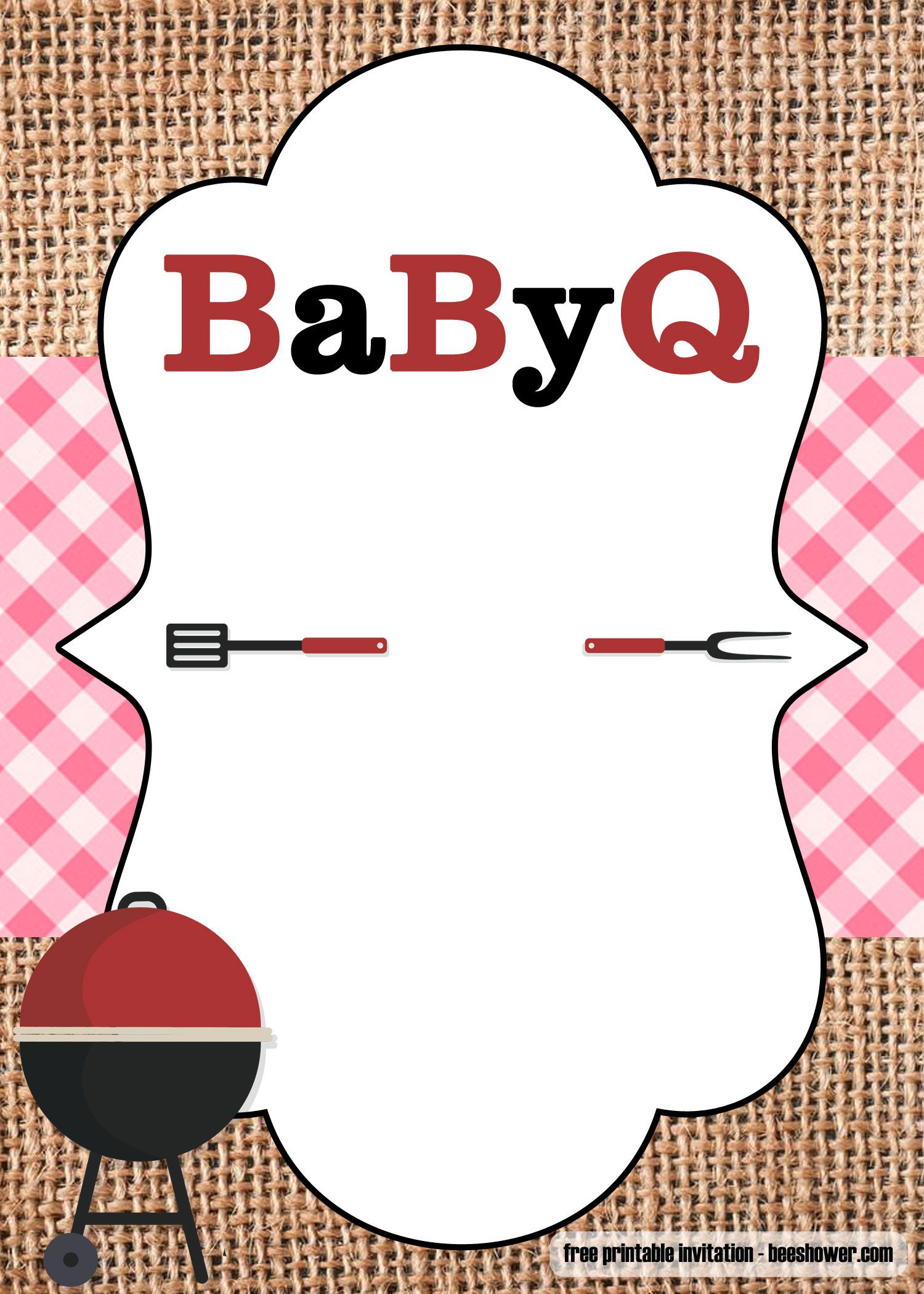 Barbecue clipart baby shower, Barbecue baby shower.