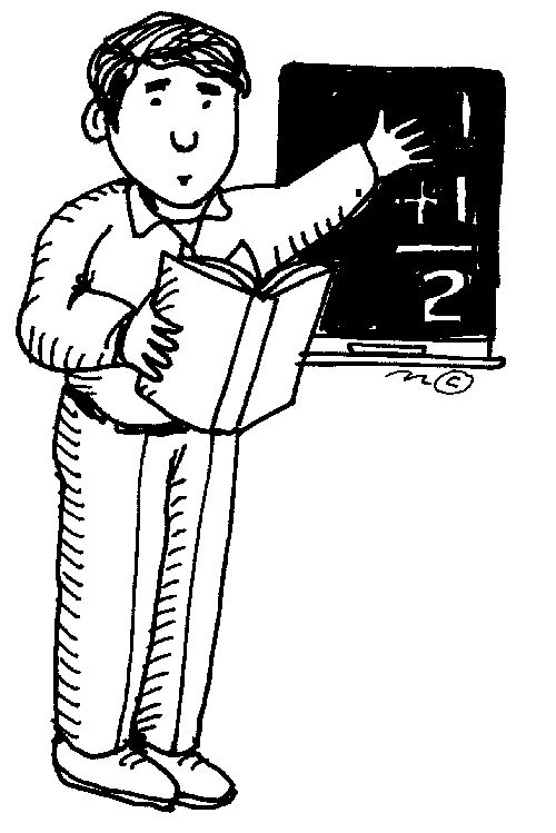 Indian Teacher Clipart Black And White.