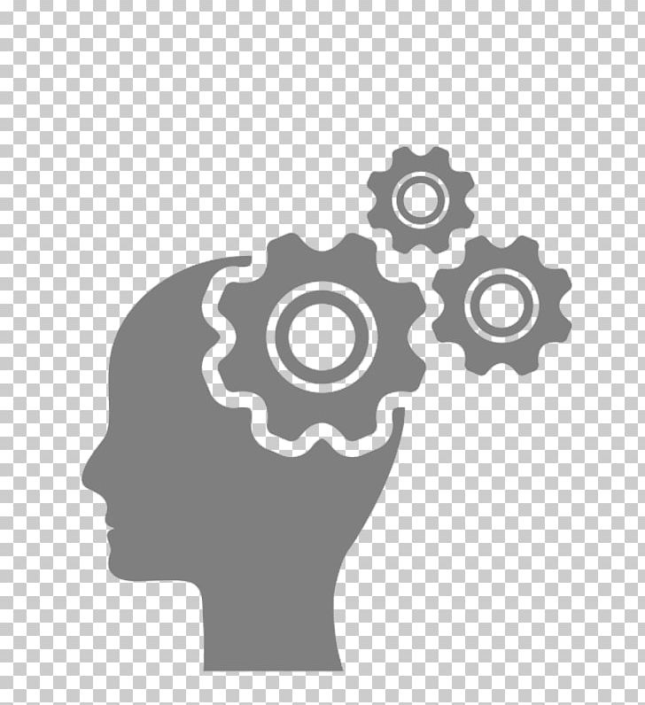Computer Icons Brain Gear PNG, Clipart, Black And White.