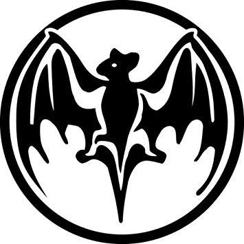 Amazon.com: Craftmag Bacardi Black Logo Decorative Decal Rum.