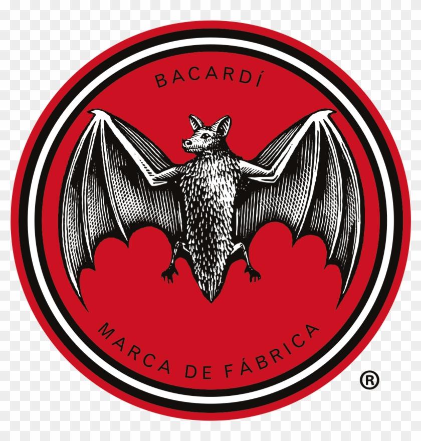 Bacardi Bat Logo Png, Transparent Png.