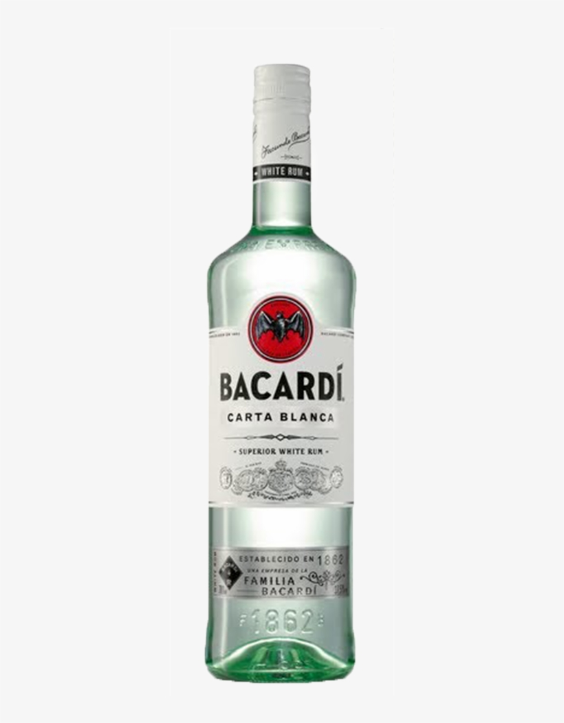 Bacardi White Superior Rum.