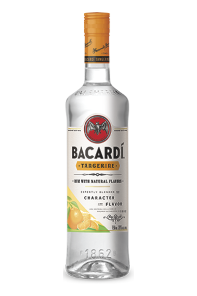 Bacardi Tangerine Rum.