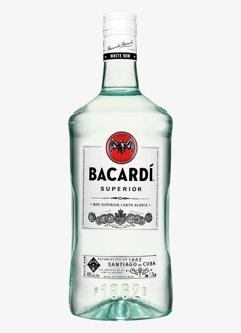 Bacardi Superior.
