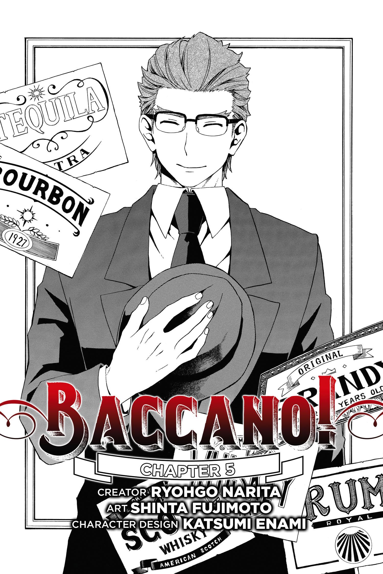 Baccano!, Chapter 5 (manga).