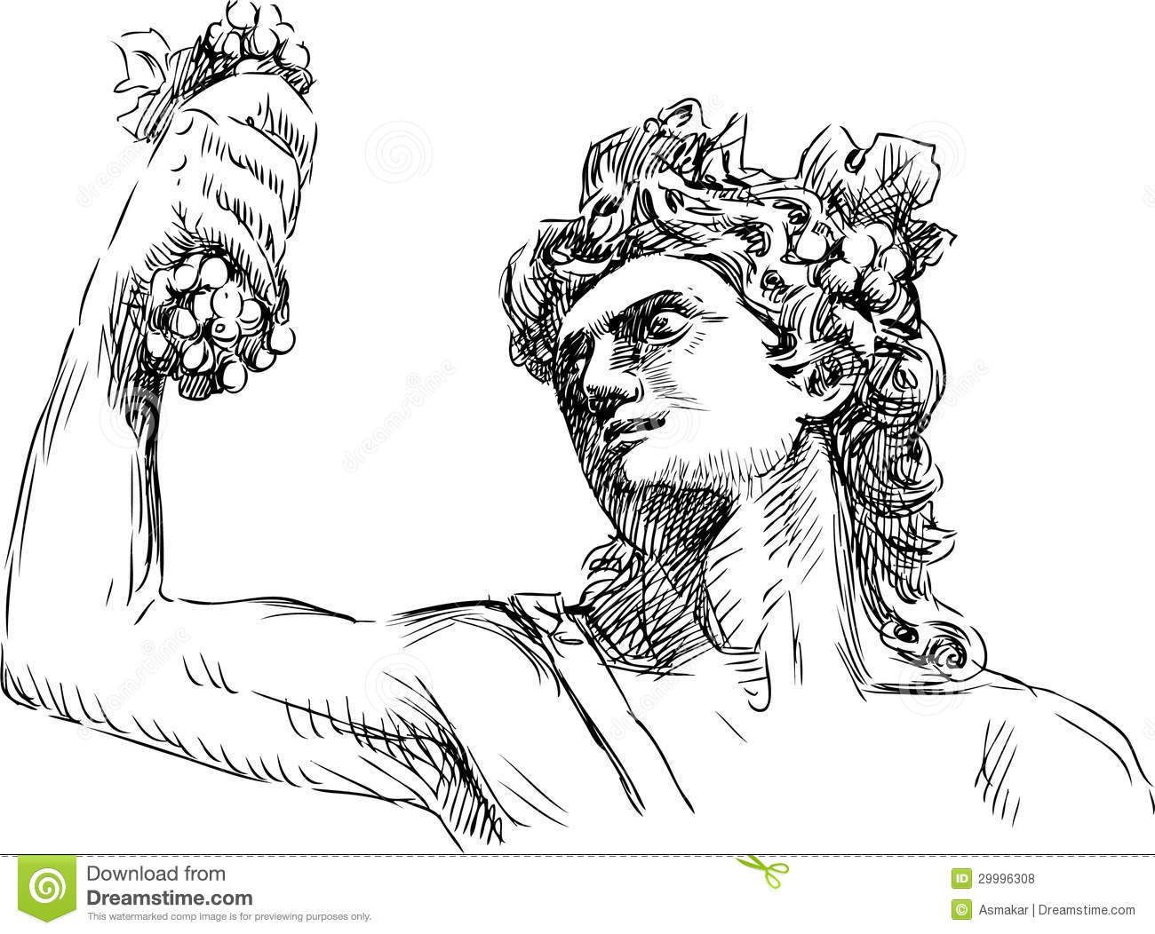 Bacchus Stock Illustrations.