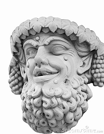 Bacchus (Dionysus) Stock Photo.