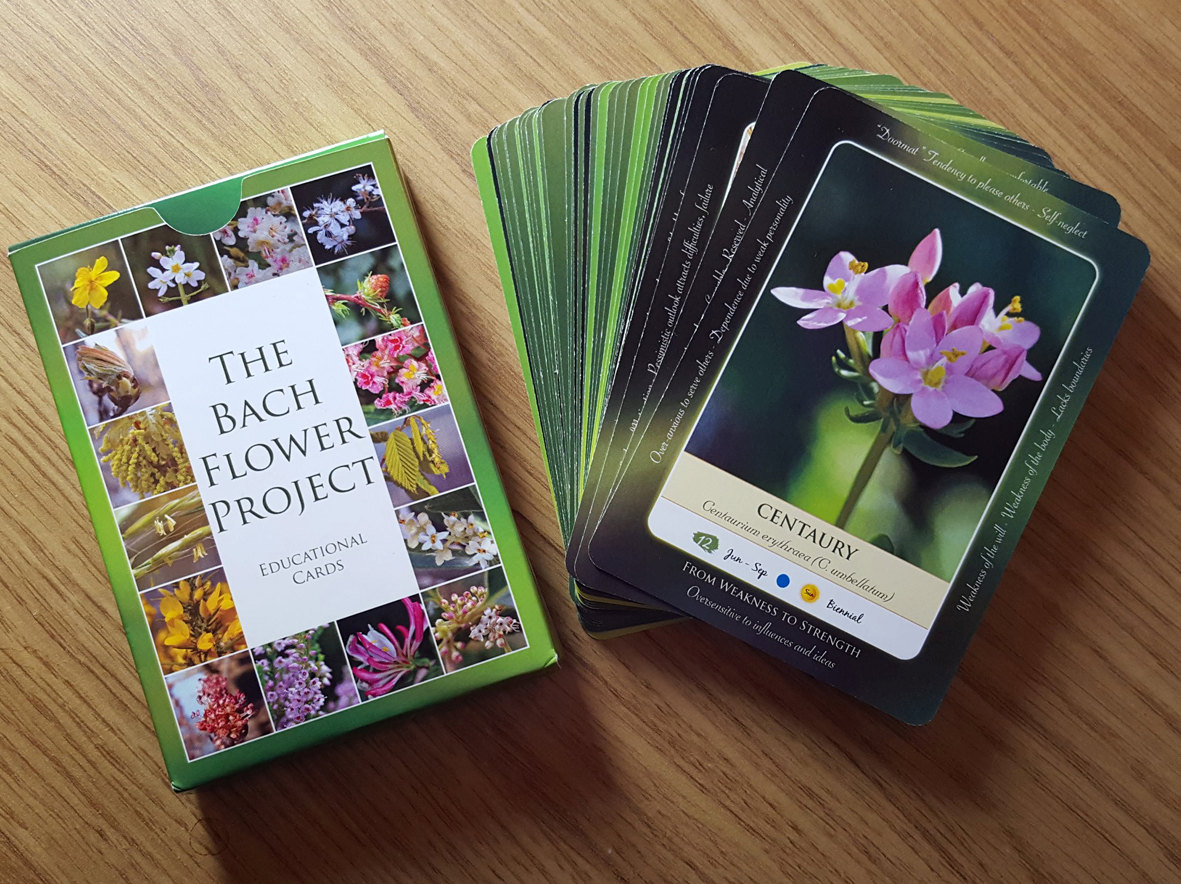 The Bach Flower Project Educational Cards by TheBachFlowerProject.