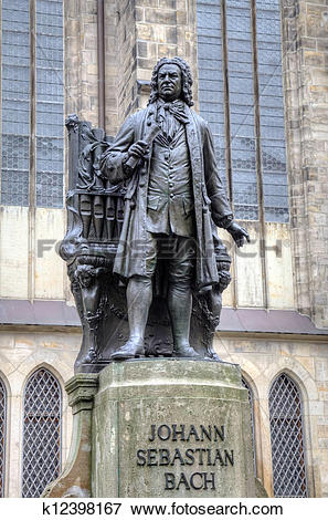 Picture of Monument for Johann Sebastian Bach k12398167.