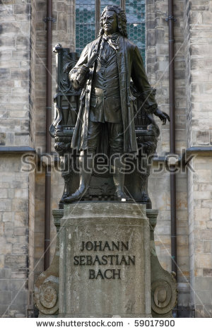 Johann Sebastian Bach Stock Photos, Royalty.