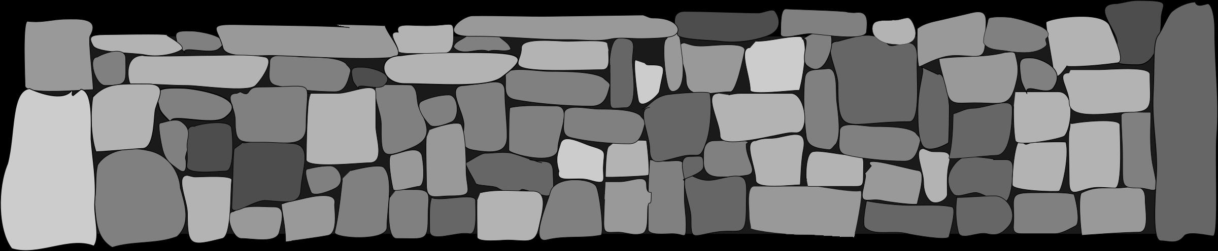 Cobblestone Clip Art : Stone fence clipart clipground
