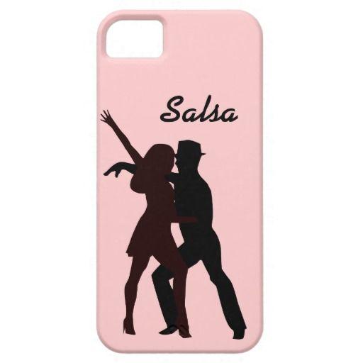 Silhouette of Salsa Dancers Case.