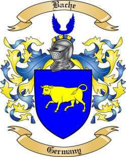 Bache Family Crest from Germany3 by The Tree Maker.