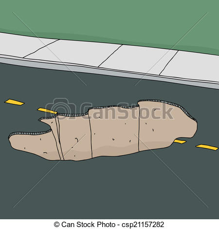 Potholes Illustrations and Clip Art. 44 Potholes royalty free.