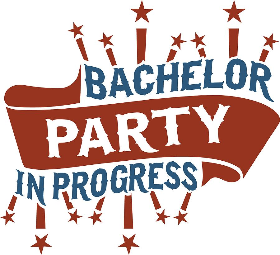 Bachelor Party In Progress.