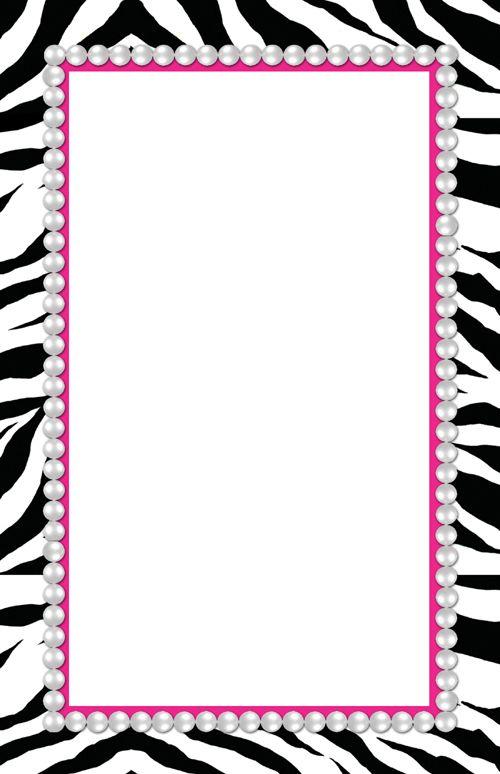 Free Printable Zebra Letters.