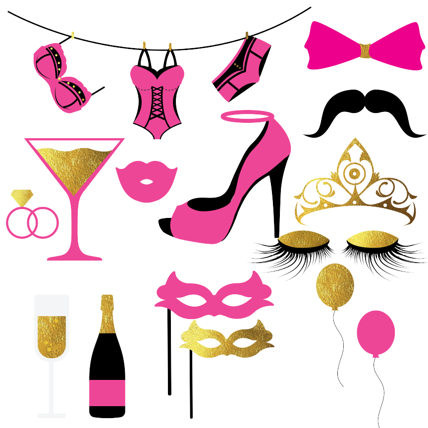 Bachelorette Party Clipart By Fantasy Cliparts.