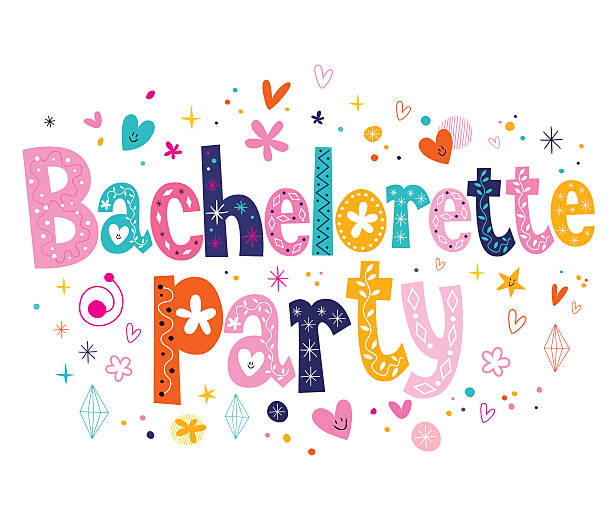 Best Bachelorette Party Illustrations, Royalty.