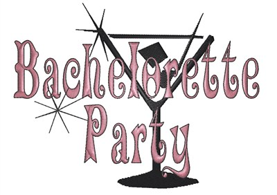 Bachelorette party clipart images.
