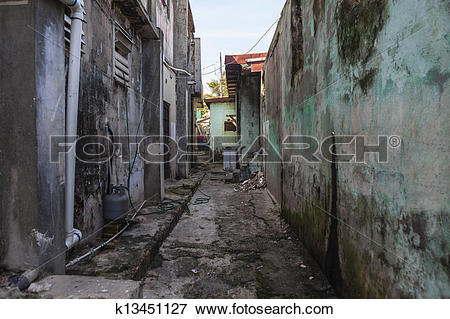 Picture of Grungy Back Alley k13451127.