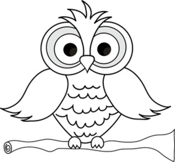 Free Black And White Owl Clipart, Download Free Clip Art.