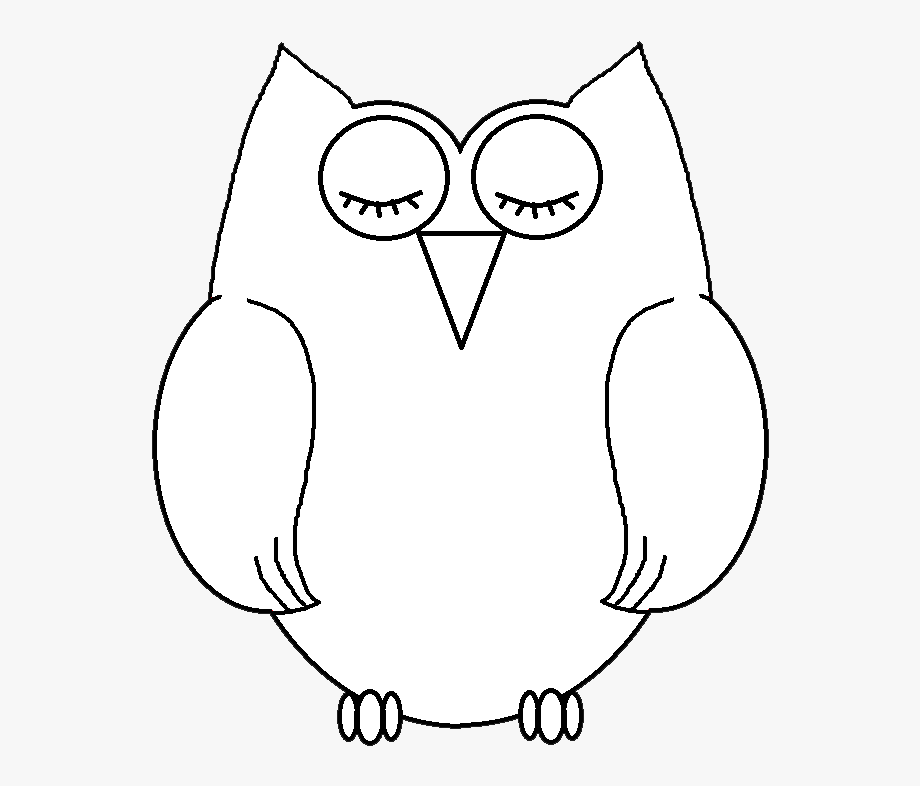 Svg Transparent Black And White Owl Clipart , Transparent.