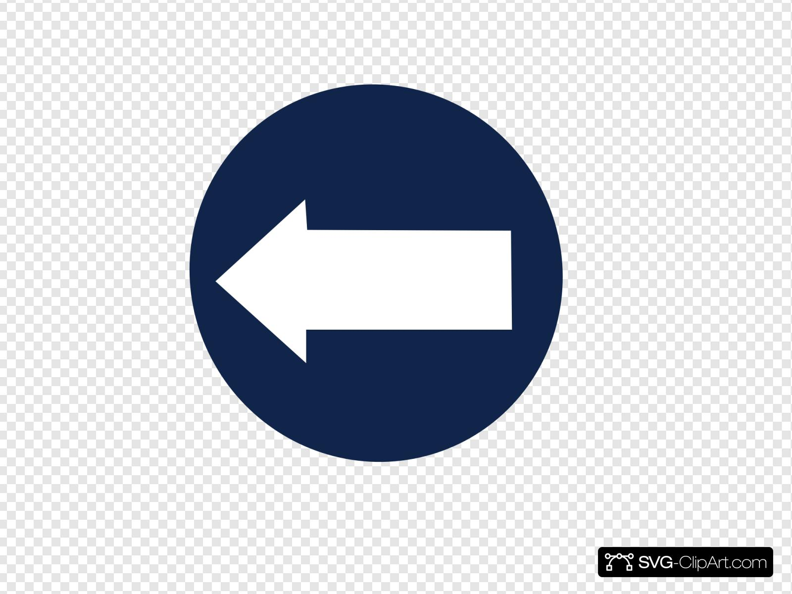 Back Arrow Clip art, Icon and SVG.