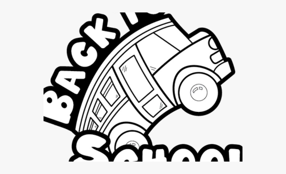Back To School Clipart Black And White.