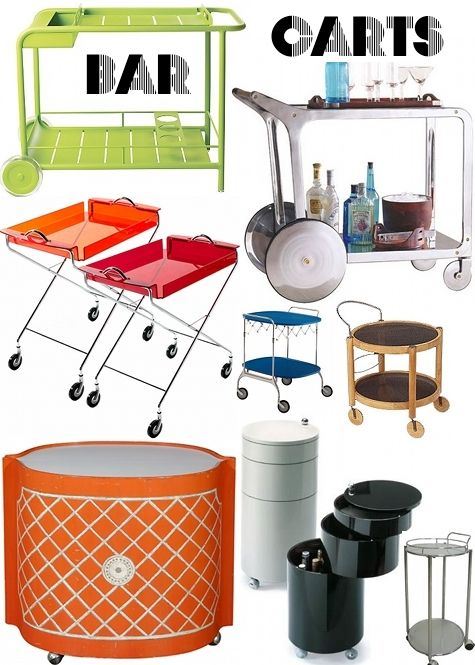 1000+ images about The Bar Cart is Back on Pinterest.