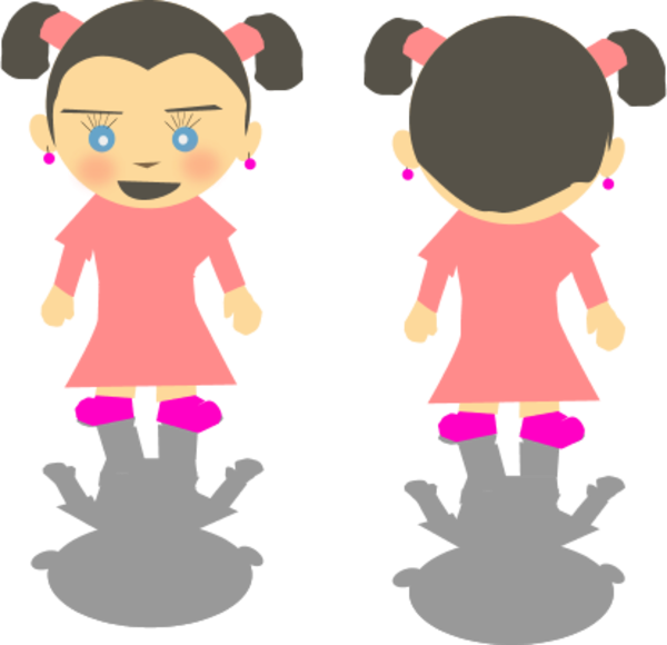 Front back clipart.