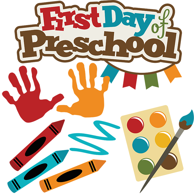First day of school clipart #4