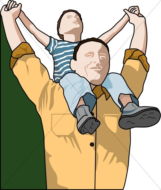 Father's Day Clipart, Father's Day Images.