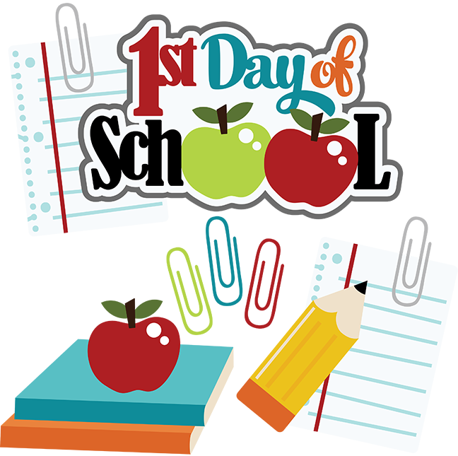 First day of school clipart #6