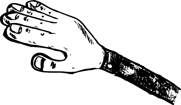 Back Of Hand Clip Art.