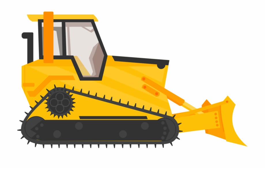 Backhoe Clipart Bulldozer Bulldozer Construction Truck.