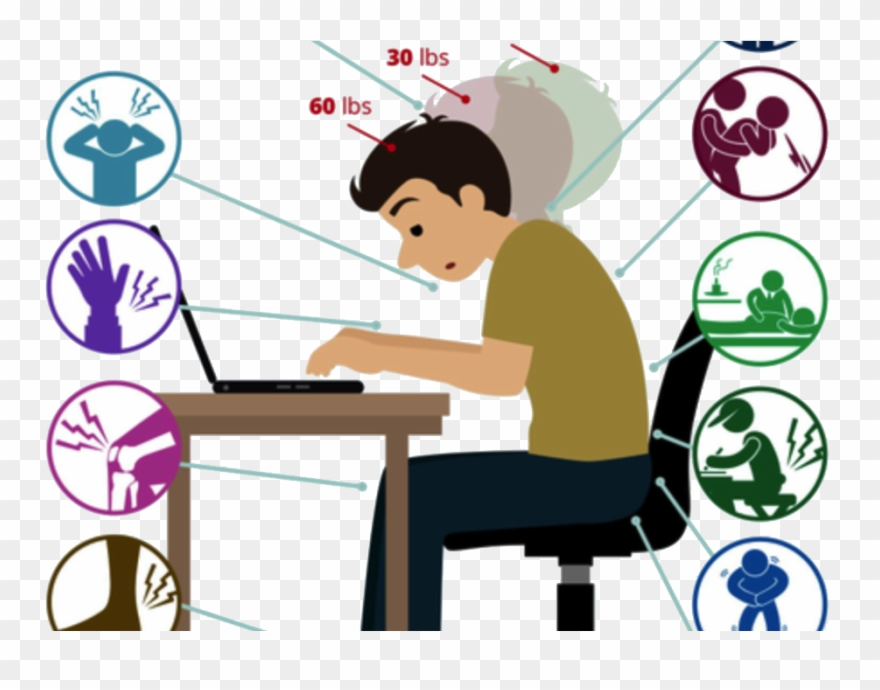 Injury Clipart Back Strain.
