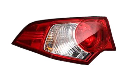 Rear of car tail lights clipart.