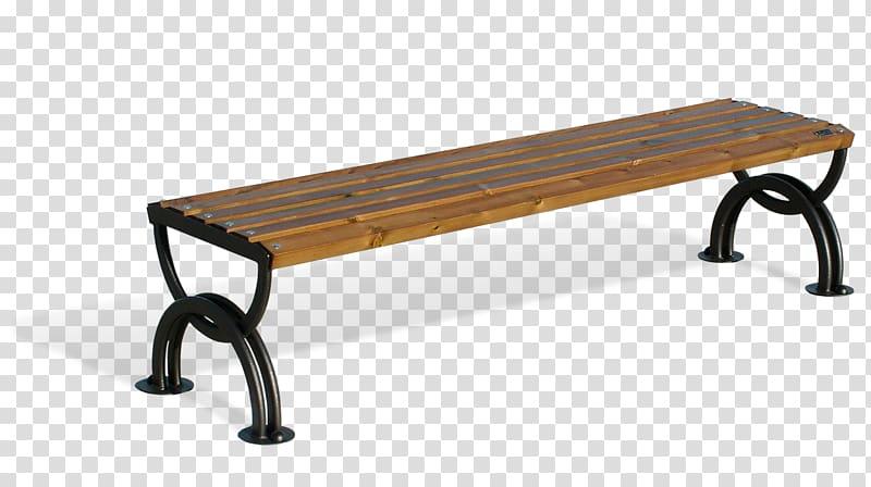 Bench Street furniture Seat Wood, Wood back transparent.