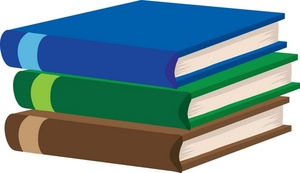 Textbooks Clipart Image.