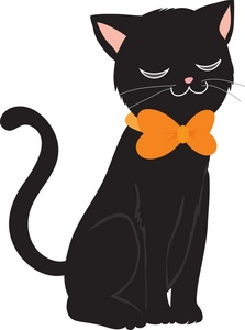 Back Of Cat Clipart.
