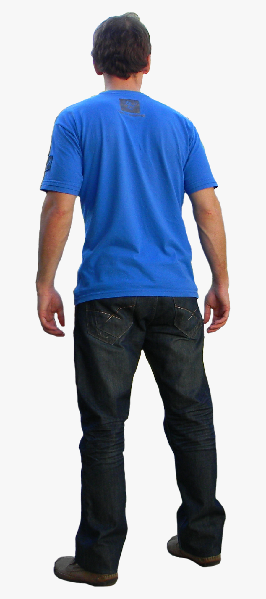 Man Standing Back Side Png , Free Transparent Clipart.